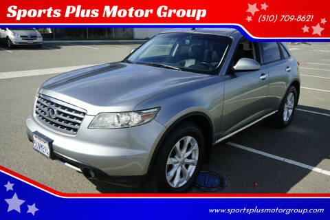 2006 Infiniti FX35 for sale at Sports Plus Motor Group LLC in Sunnyvale CA