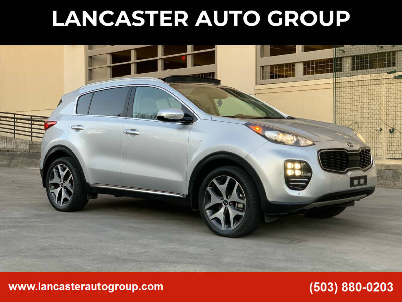 2017 Kia Sportage for sale at LANCASTER AUTO GROUP in Portland OR