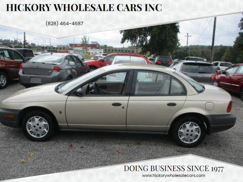 1999 Saturn S-Series for sale at Hickory Wholesale Cars Inc in Newton NC
