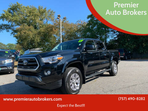 2017 Toyota Tacoma for sale at Premier Auto Brokers in Virginia Beach VA