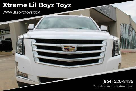 2016 Cadillac Escalade for sale at Xtreme Lil Boyz Toyz in Greenville SC