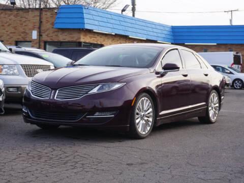 2013 Lincoln MKZ for sale at PLATINUM AUTO SALES in Dearborn MI