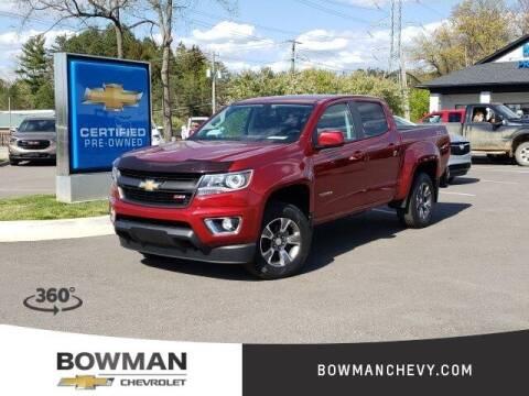 2017 Chevrolet Colorado for sale at Bowman Auto Center in Clarkston MI