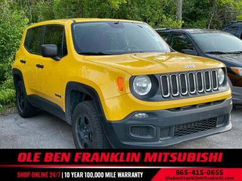 2018 Jeep Renegade for sale at Ole Ben Franklin Mitsbishi in Oak Ridge TN