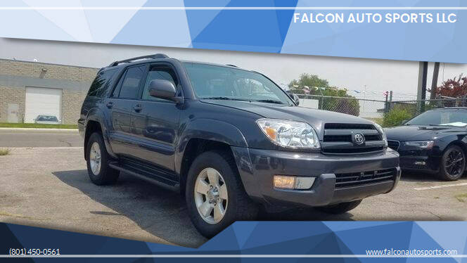 2005 Toyota 4Runner for sale at Falcon Auto Sports LLC in Murray UT