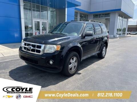 2009 Ford Escape for sale at COYLE GM - COYLE NISSAN - New Inventory in Clarksville IN