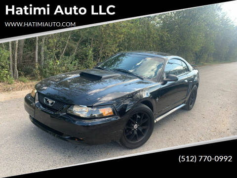 2002 Ford Mustang for sale at Hatimi Auto LLC in Buda TX