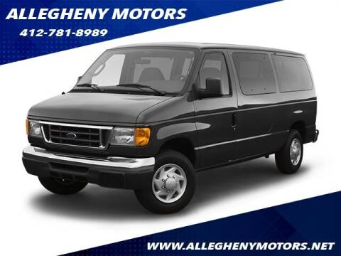 2007 Ford E-Series Wagon for sale at Allegheny Motors in Pittsburgh PA