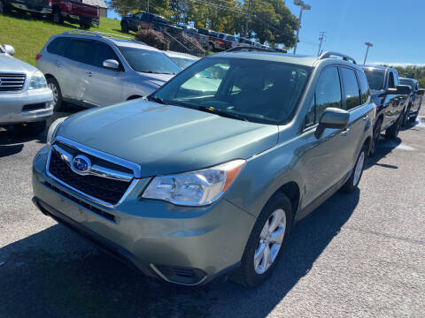 2015 Subaru Forester for sale at Ball Pre-owned Auto in Terra Alta WV