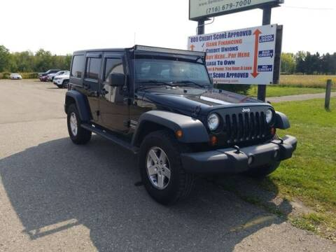 2013 Jeep Wrangler Unlimited for sale at Sensible Sales & Leasing in Fredonia NY