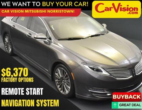 2016 Lincoln MKZ for sale at Car Vision Mitsubishi Norristown in Norristown PA