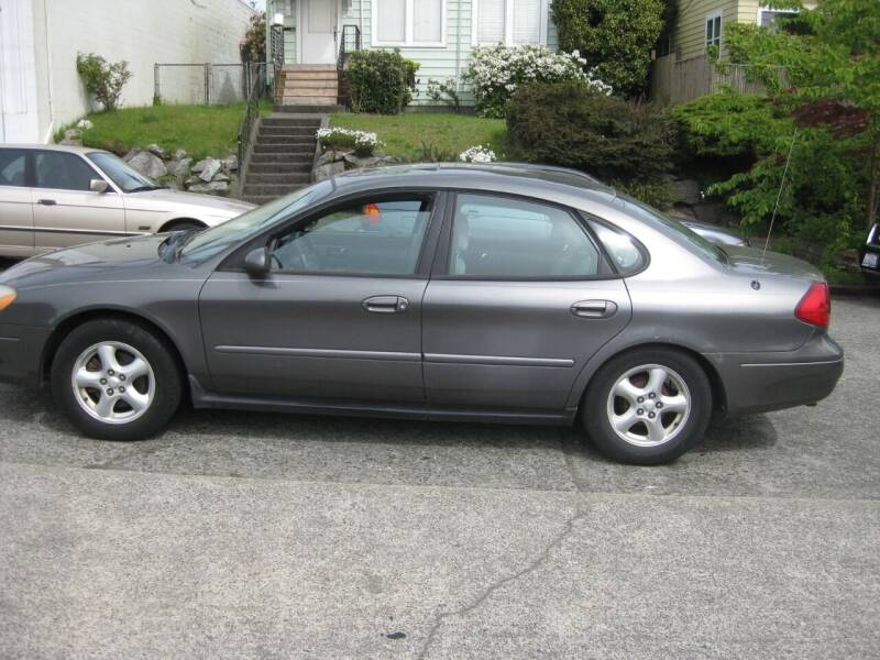 2002 Ford Taurus for sale at UNIVERSITY MOTORSPORTS in Seattle WA