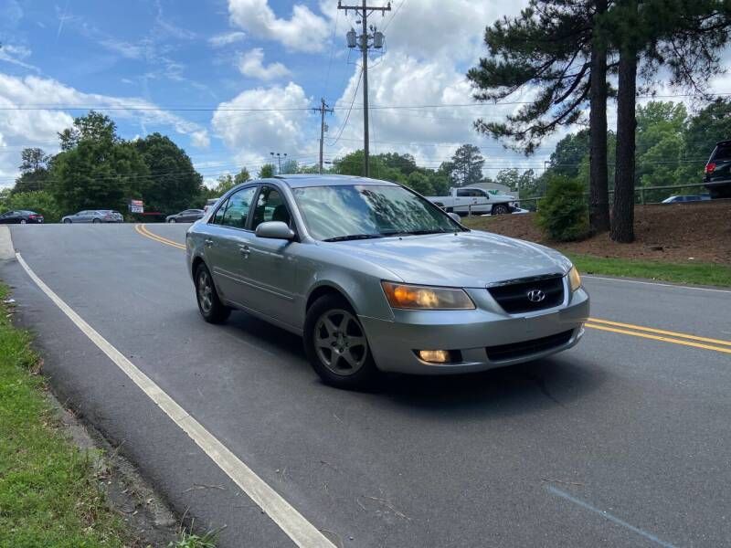 2006 Hyundai Sonata for sale at THE AUTO FINDERS in Durham NC