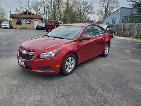 2014 Chevrolet Cruze for sale at Excellent Autos in Amsterdam NY
