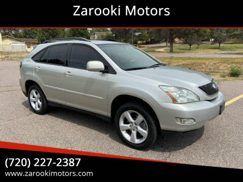 2005 Lexus RX 330 for sale at Zarooki Motors in Englewood CO
