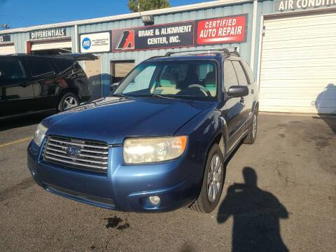 2008 Subaru Forester for sale at B & A Automotive Sales in Charlotte NC