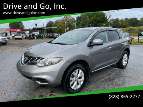 2012 Nissan Murano for sale at Drive and Go, Inc. in Hickory NC