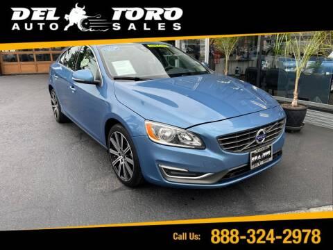 2014 Volvo S60 for sale at DEL TORO AUTO SALES in Auburn WA