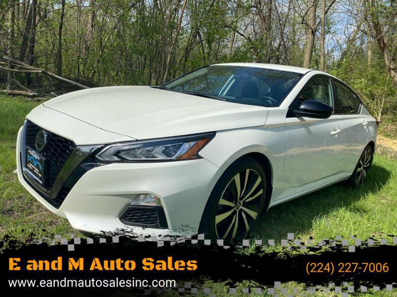 2019 Nissan Altima for sale at E and M Auto Sales in Elgin IL