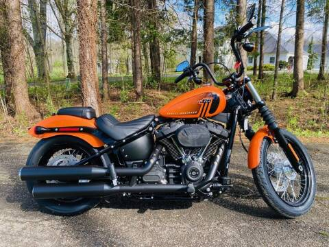 2021 Harley-Davidson® FXBBS - Street Bob® 114 for sale at Street Track n Trail in Conneaut Lake PA
