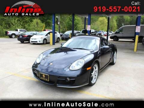 2006 Porsche Cayman for sale at Inline Auto Sales in Fuquay Varina NC