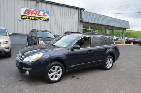 2013 Subaru Outback for sale at Ball Pre-owned Auto in Terra Alta WV
