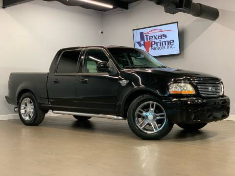 2003 Ford F-150 for sale at Texas Prime Motors in Houston TX