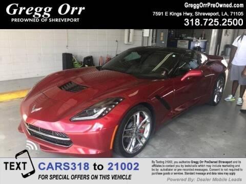 2014 Chevrolet Corvette for sale at Gregg Orr Pre-Owned Shreveport in Shreveport LA