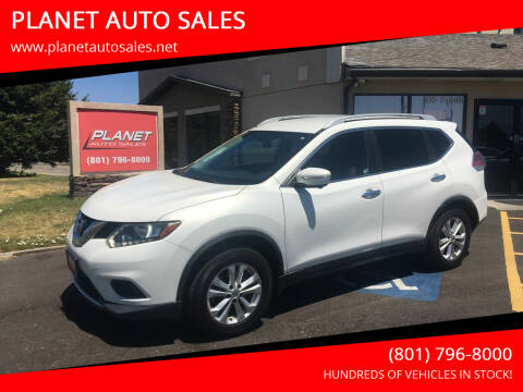 2014 Nissan Rogue for sale at PLANET AUTO SALES in Lindon UT