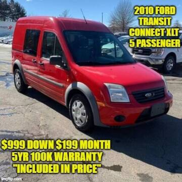 2010 Ford Transit Connect for sale at D&D Auto Sales, LLC in Rowley MA