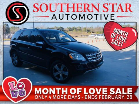 2010 Mercedes-Benz M-Class for sale at Southern Star Automotive, Inc. in Duluth GA