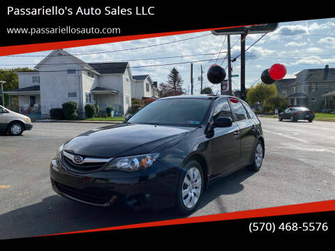 2010 Subaru Impreza for sale at Passariello's Auto Sales LLC in Old Forge PA