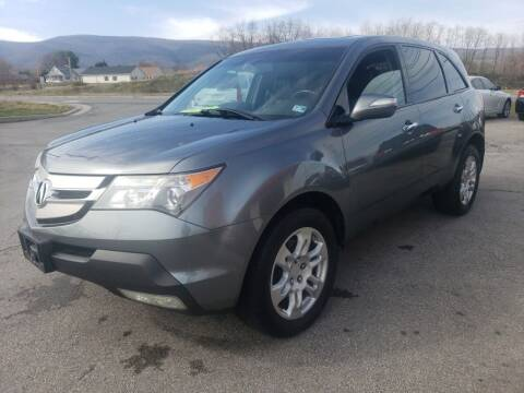 2009 Acura MDX for sale at Salem Auto Sales in Salem VA