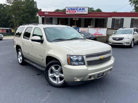 2013 Chevrolet Tahoe for sale at Unicar Enterprise in Lexington SC