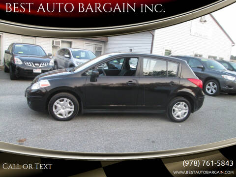 2011 Nissan Versa for sale at BEST AUTO BARGAIN inc. in Lowell MA