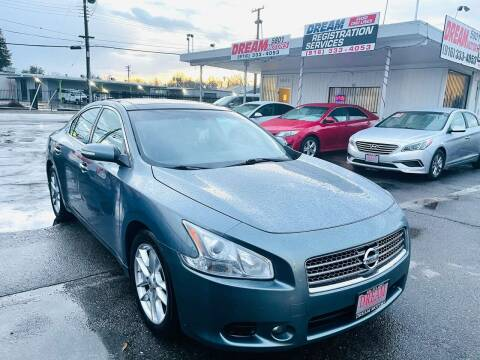 2011 Nissan Maxima for sale at Dream Motors in Sacramento CA