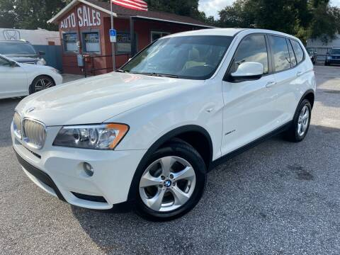 2012 BMW X3 for sale at CHECK AUTO, INC. in Tampa FL