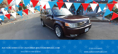 2009 Ford Flex for sale at AUCTION SERVICES OF CALIFORNIA in El Dorado CA