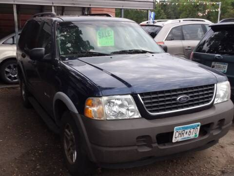 2002 Ford Explorer for sale at Sunrise Auto Sales in Stacy MN