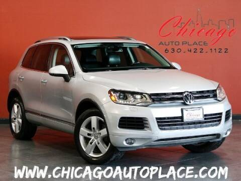 2013 Volkswagen Touareg for sale at Chicago Auto Place in Bensenville IL