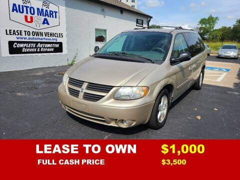 2005 Dodge Grand Caravan for sale at Auto Mart USA -Lease To Own in Kansas City MO