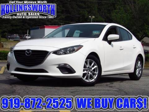 2014 Mazda MAZDA3 for sale at Hollingsworth Auto Sales in Raleigh NC