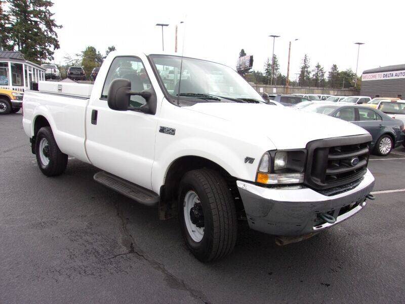 2002 Ford F-350 Super Duty for sale at Delta Auto Sales in Milwaukie OR