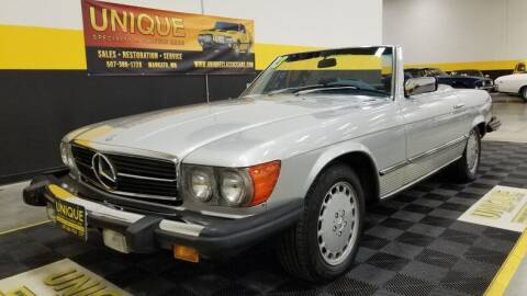 1983 Mercedes-Benz 380-Class for sale at UNIQUE SPECIALTY & CLASSICS in Mankato MN