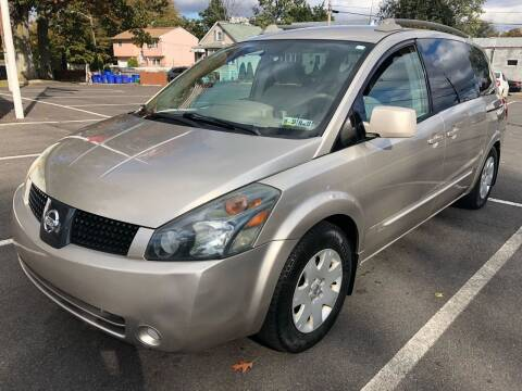 2005 Nissan Quest for sale at EZ Auto Sales , Inc in Edison NJ