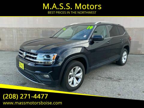 2019 Volkswagen Atlas for sale at M.A.S.S. Motors in Boise ID