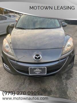 2011 Mazda MAZDA3 for sale at Motown Leasing in Morristown NJ