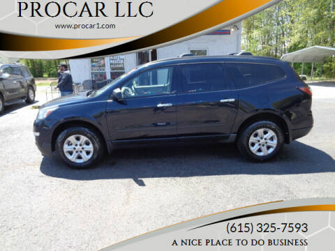 2015 Chevrolet Traverse for sale at PROCAR LLC in Portland TN