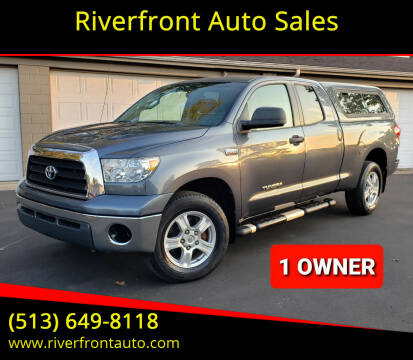 2007 Toyota Tundra for sale at Riverfront Auto Sales in Middletown OH