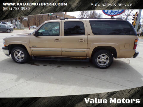 2000 Chevrolet Suburban for sale at Value Motors in Watertown SD